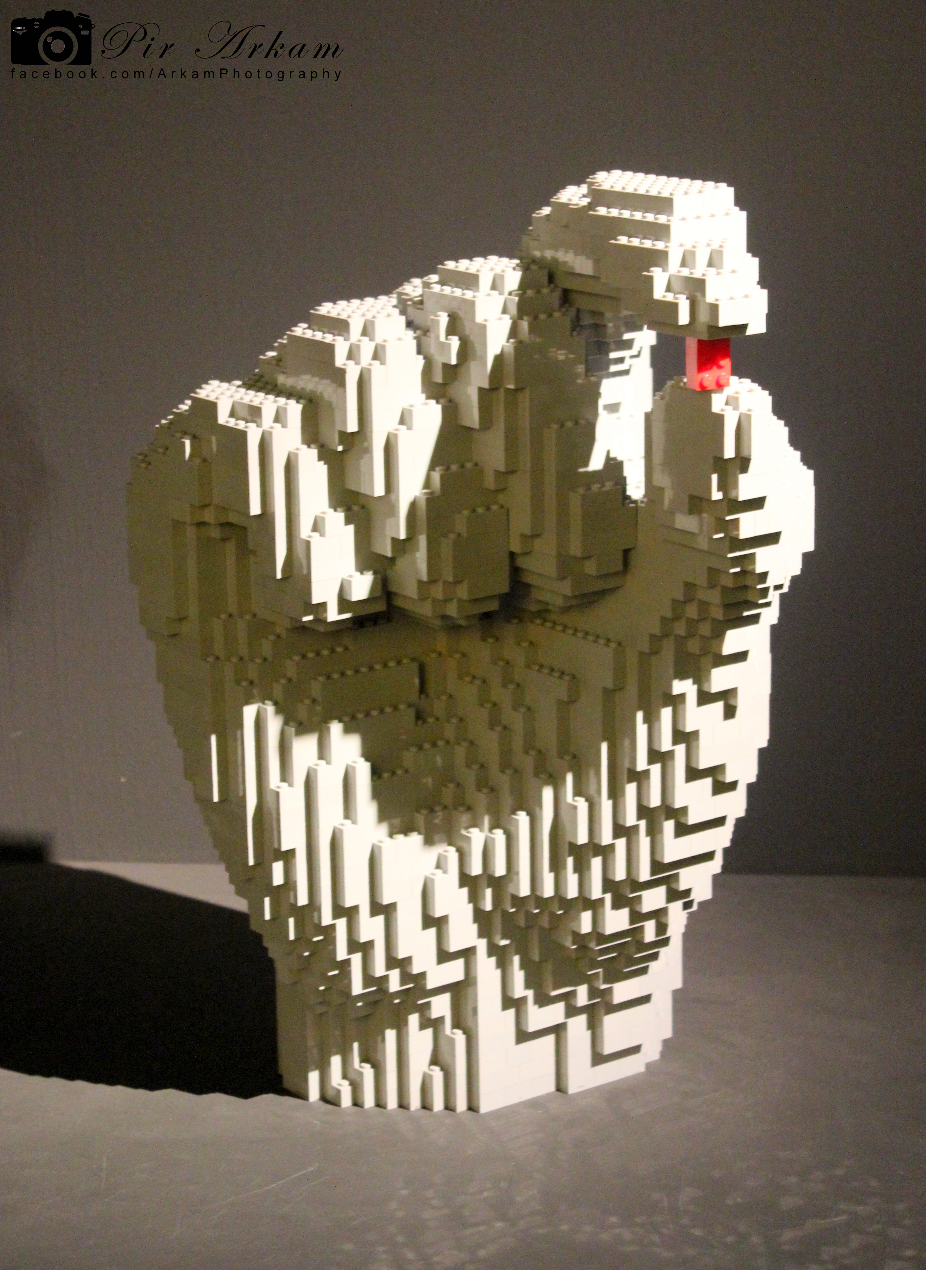 The art of the Brick Nathan Sawaya LEGO Hand Art Sculpture