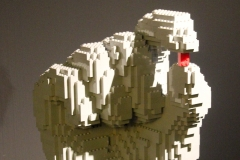 The art of the Brick Nathan Sawaya LEGO Hand Art Sculpture