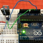 5v Supply to arduino using 7805 Voltage regulator