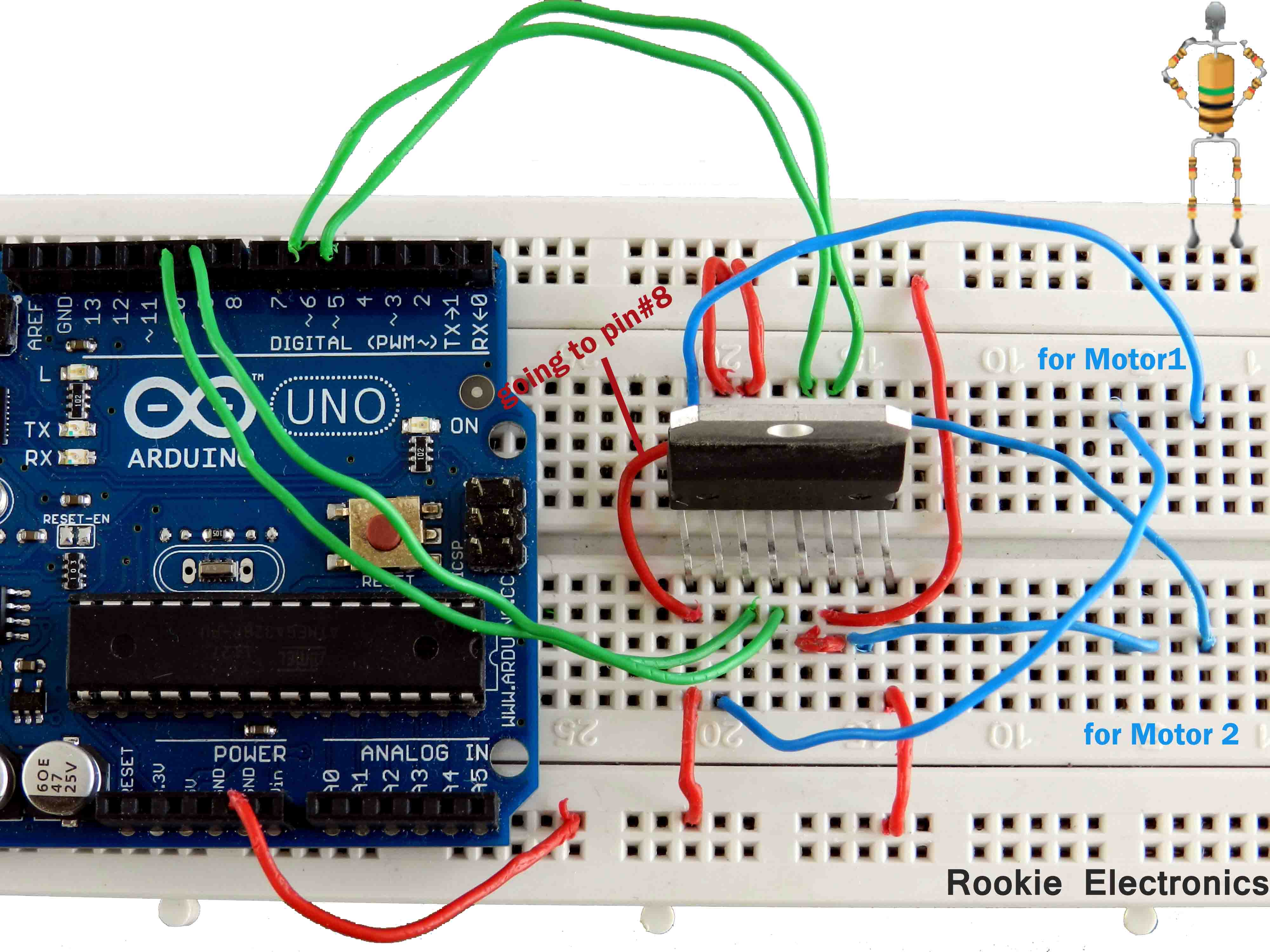 furthermore Breadboard also Pc Fan Controller Circuit additionally  also Basic Robot. on small electronics projects with circuit diagram