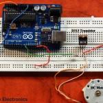 Controlling DC Motor using Arduino