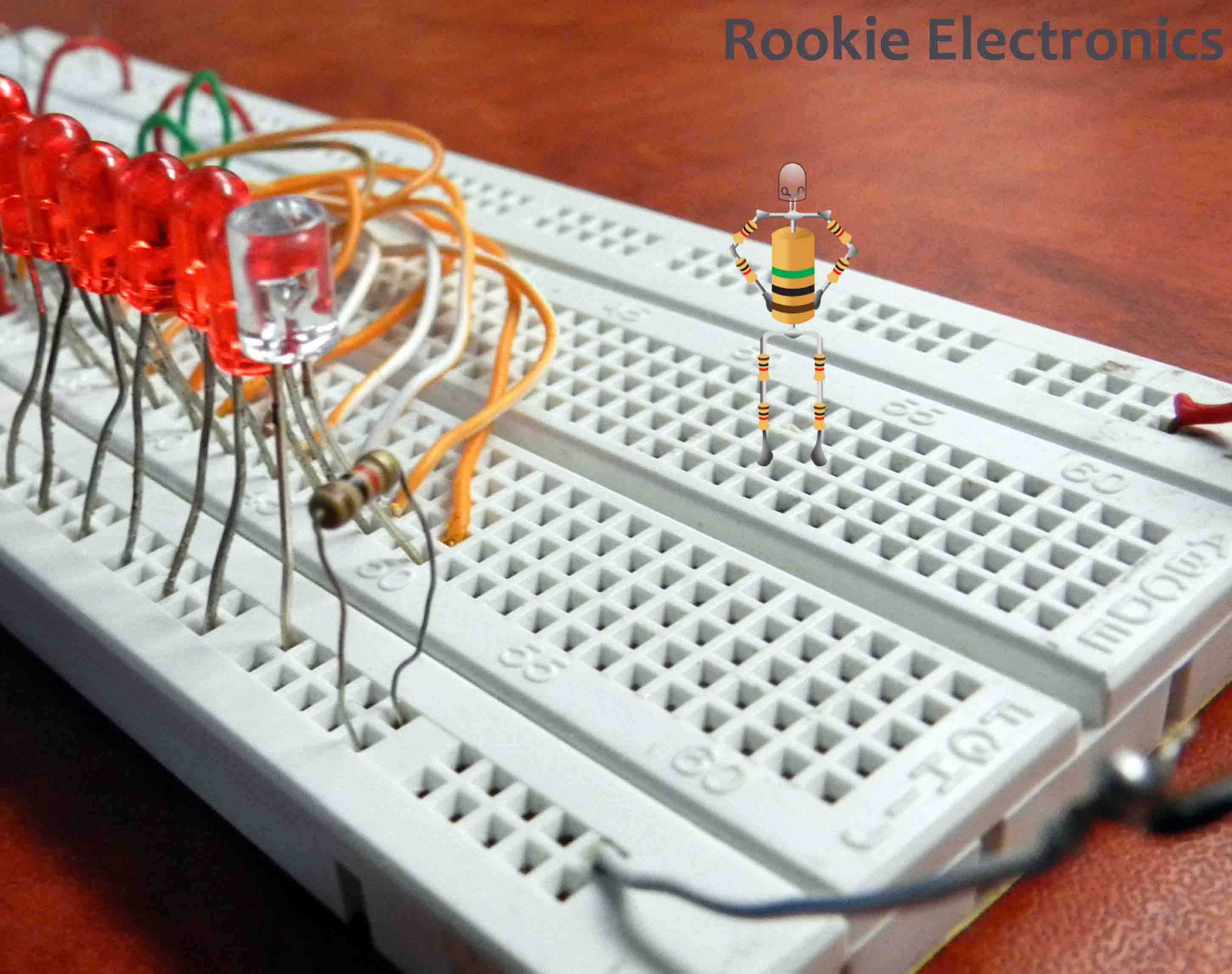 LED Chaser | Rookie Electronics | Electronics & Robotics Projects