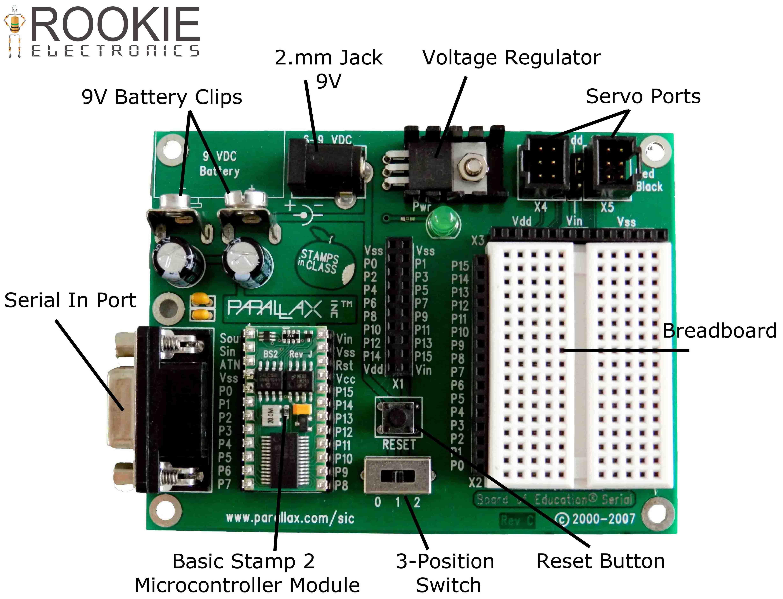 mod 10 7 segment display rookie electronics electronicsboard of education