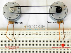 Simple Dc Generator Rookie Electronics Electronics