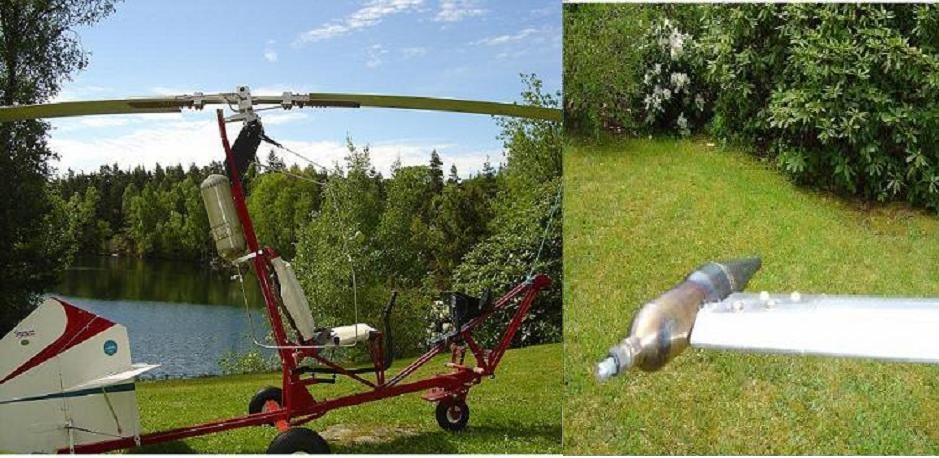 Rocket powered Gyrocopter